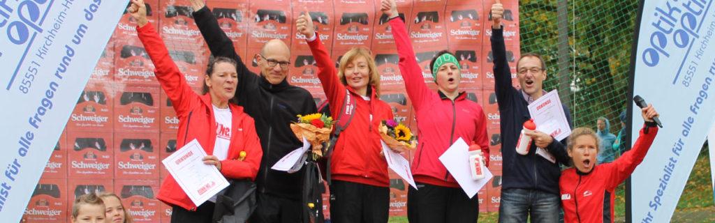Erfolge feiern – RUNNING Company Ergebnisticker von Läufen und Triathlons