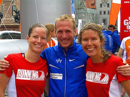 Jan Fitschen und Bianca Meyer