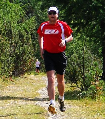 Martin Gusek im Livigno Laufcamp Höhentraining