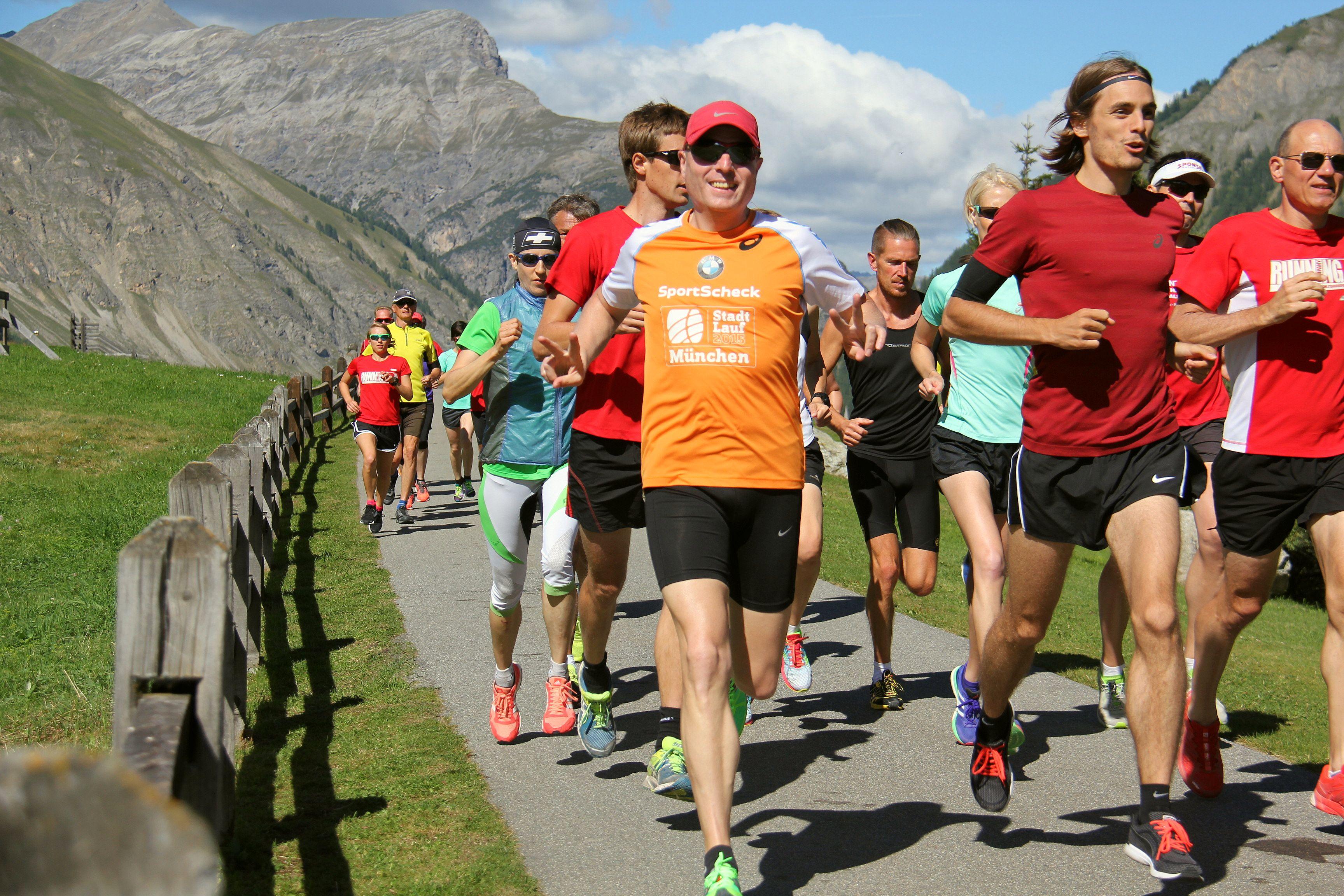Tempotraining bei der RUNNING Company Laufreise nach Livigno