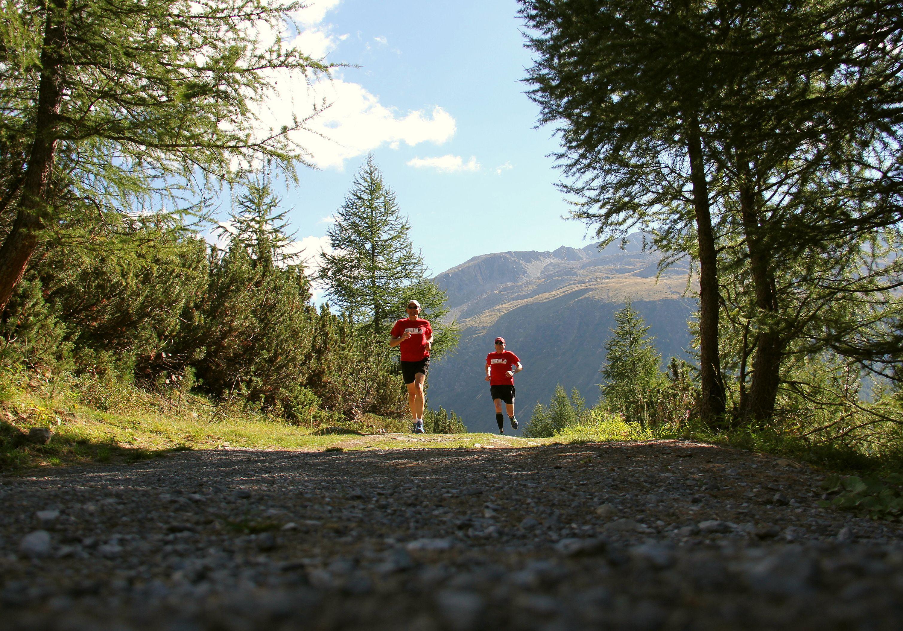 Trailrunning bei der RUNNING Company Livigno Laufreise