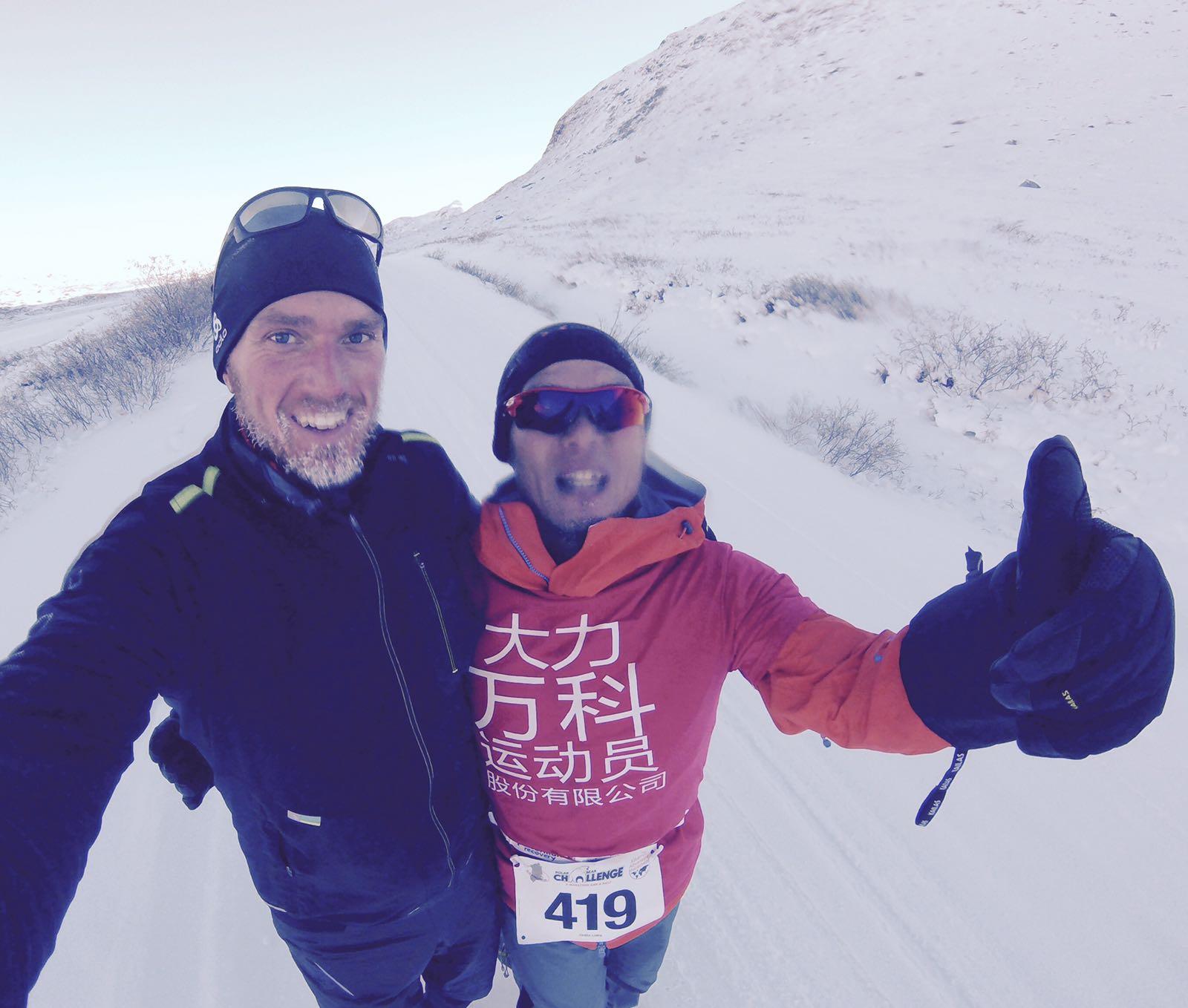 Jack Haug beim Polar Circle Marathon 2016