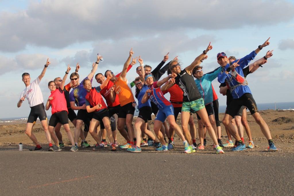 Lanzarote Laufcamp - Glückliche Läufer