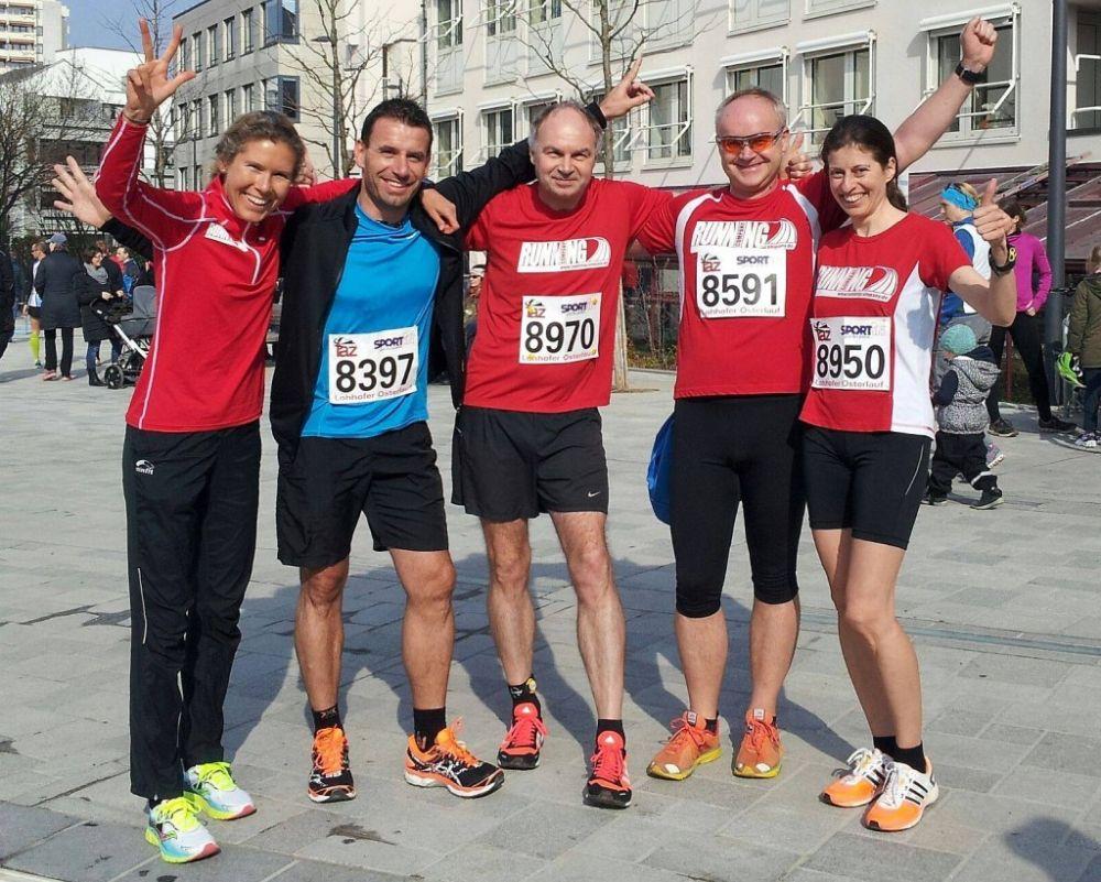 RUNNING Company Läufer beim Lohofer Osterlauf