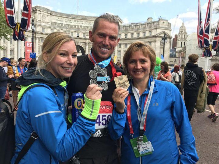 Tolles Marathon-Wochenende der Rekorde für die Red Runners in Hamburg, London und Wien