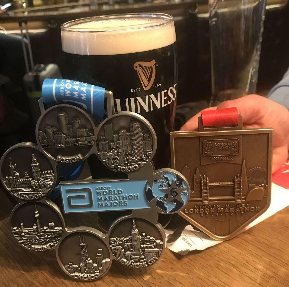 Marathon-Medaille