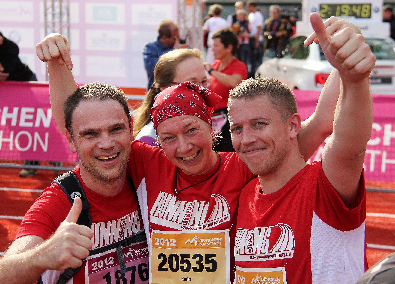 RUNNING Company Halbmarathon Training macht glücklich
