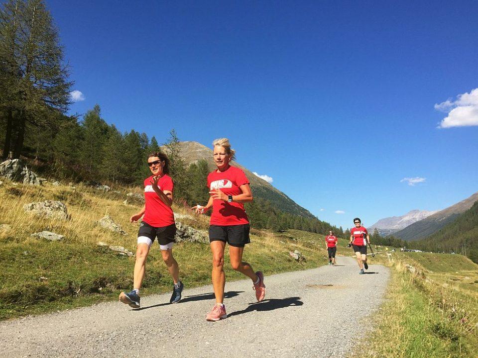 Traumhafte Landschaft im Livigno Laufcamp Höhentraining auf 1800 m Höhe