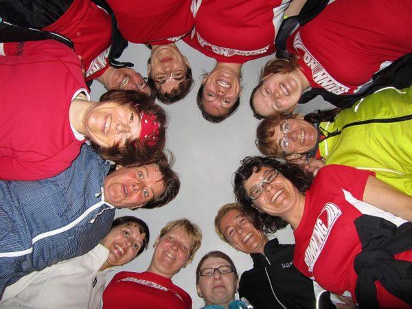 Lachende Gesichter im RUNNING Company START Running Anfänger-Laufkurs
