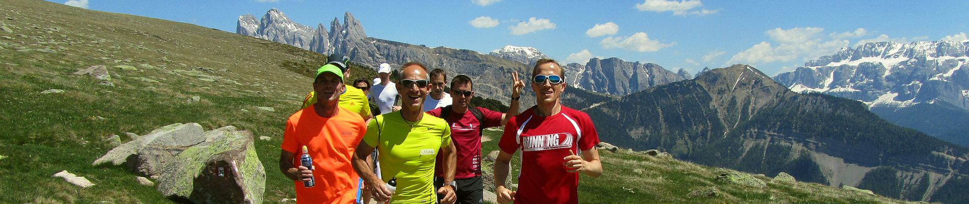 RUNNING Company Seiser Alm Laufurlaub: Laufwochenende oder ganze Laufwoche