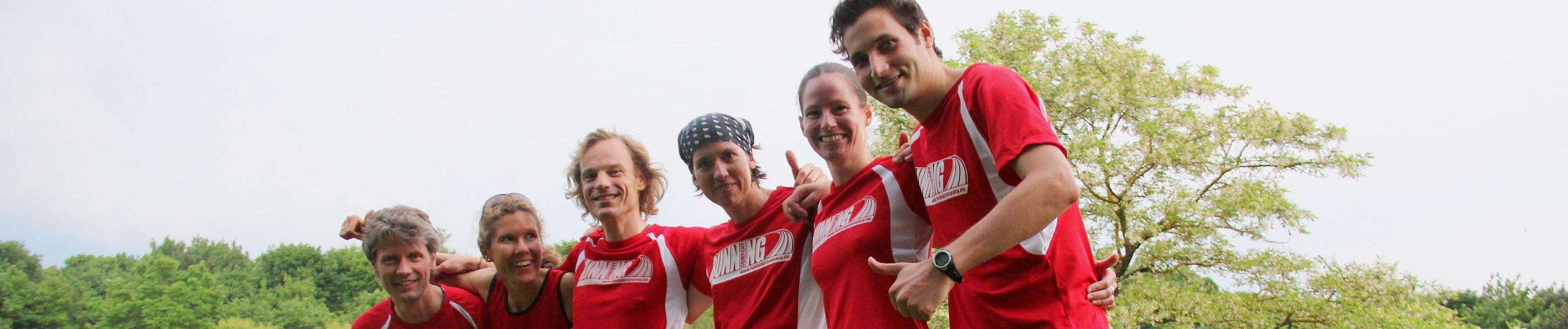 RUNNING Company Lauftrainer-Team