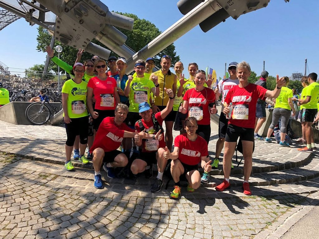 RUNNING Company Wings for Life Wolrd Run 2018