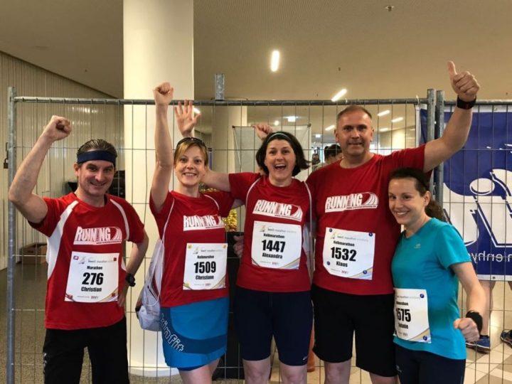 Halbmarathon, Marathon, Supermarathon – RUNNING Company Läufer rocken das Wochenende