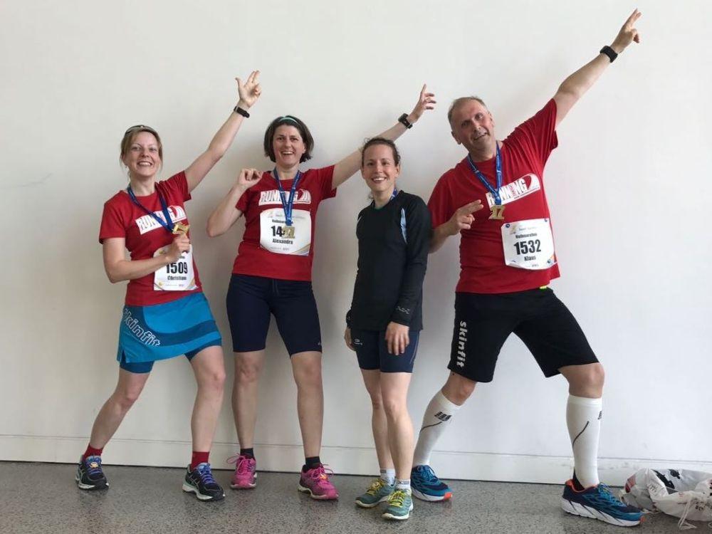 RUNNING Company beim Würzburg Marathon 2017