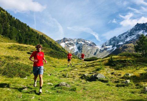Traumhaftes Berpanorama beim Trailrunning im Livigno Laufcamp Höhentraining