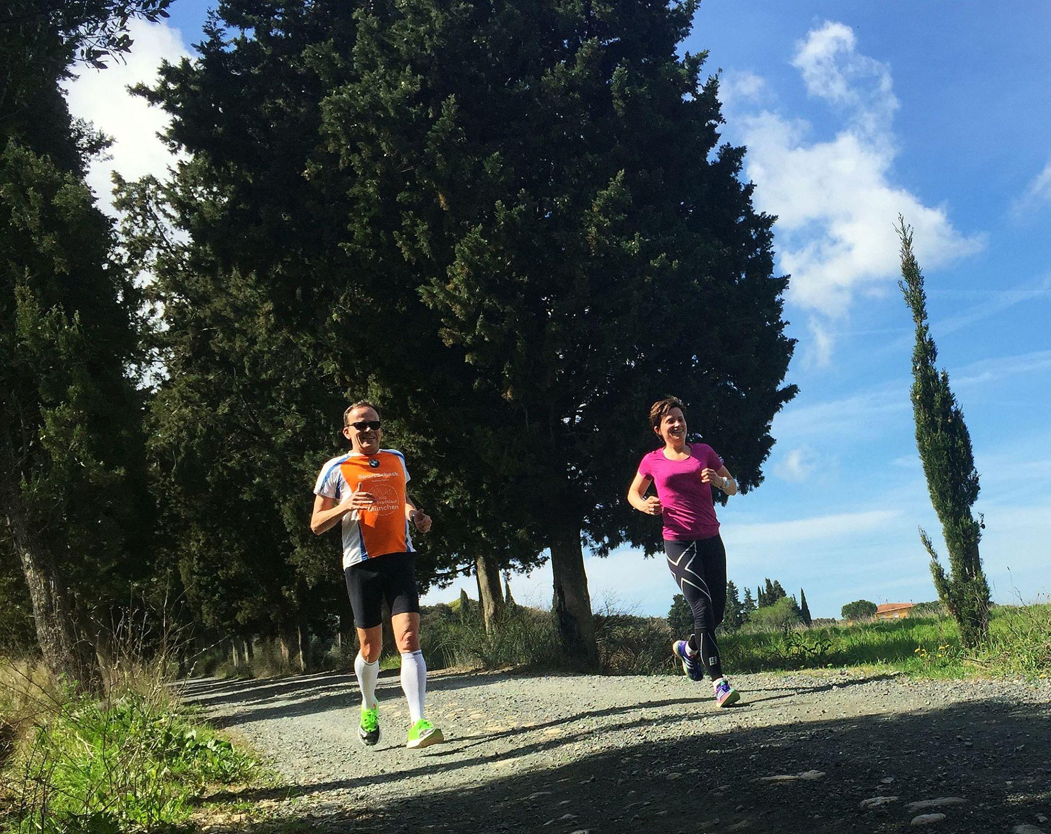 Laufen im Toskana Laufurlaub