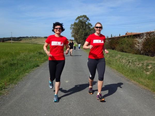 RUNNING Company Toskana Laufseminar 2016 mit viel Spaß