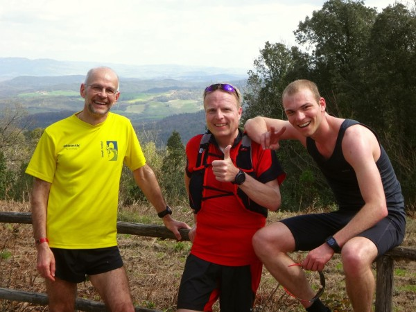 Happy Runners in der Toskana