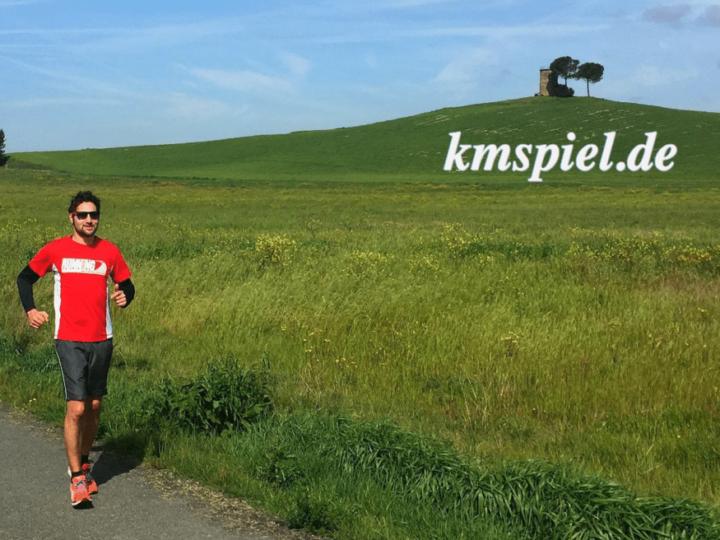 Das Km-Spiel – komm' in unser Team!