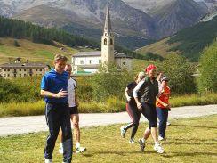Lauf-ABC bei der Livigno Laufreise
