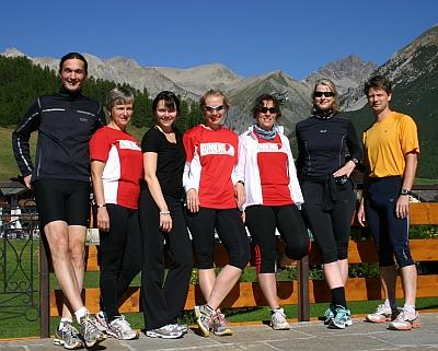 Laufen und Relaxen im Bergparadies: Livigno 2010