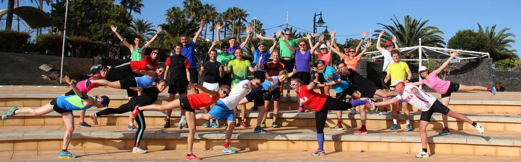 RUNNING Company Lanzarote Laufreise, der Sonne entgegen