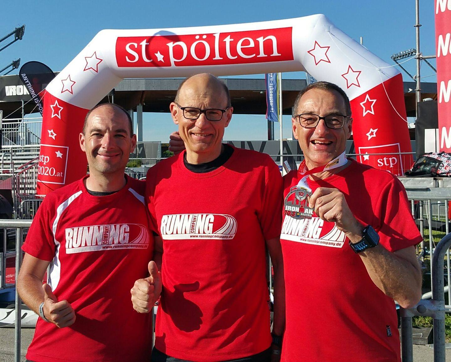 RUNNING Company Triathleten in St. Pölten