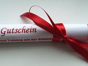 RUNNING Company Gutschein