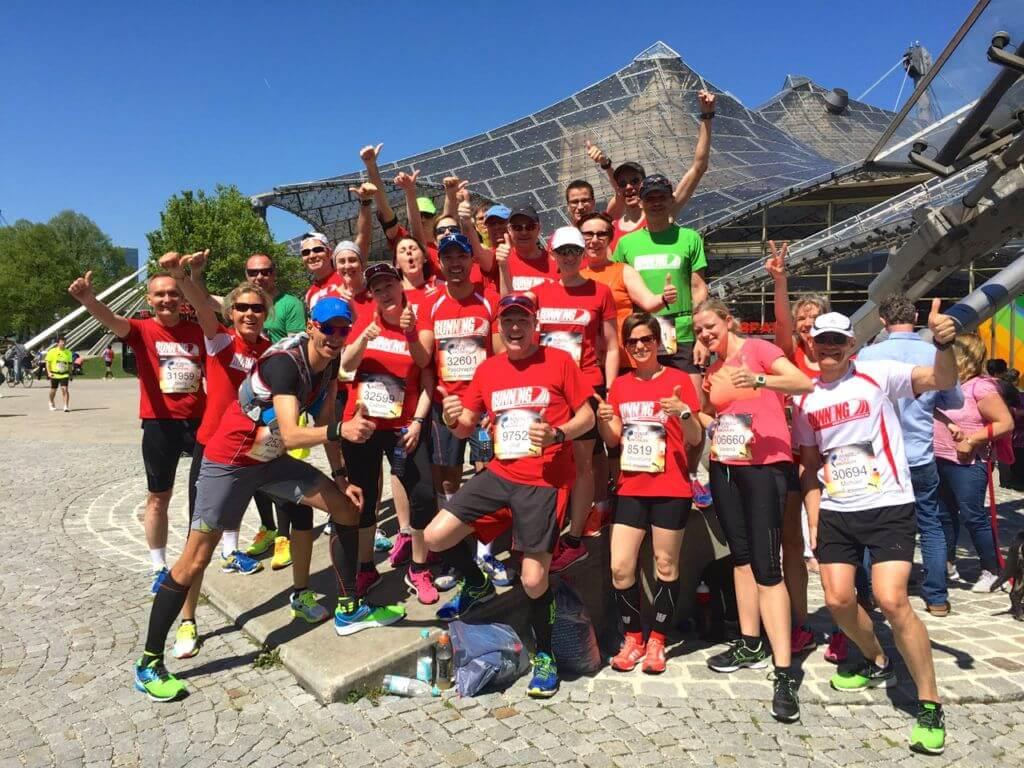 Das RUNNING Company Team beim Wings for Life World Run in München 2016