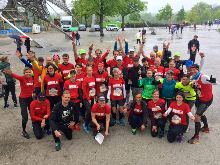 Unser Team läuft fast 1.000 Km beim Wings for Life World Run