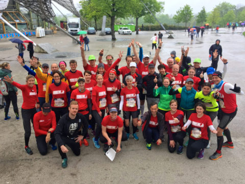 RUNNING Company beim Wings for Life World Run in München 2017