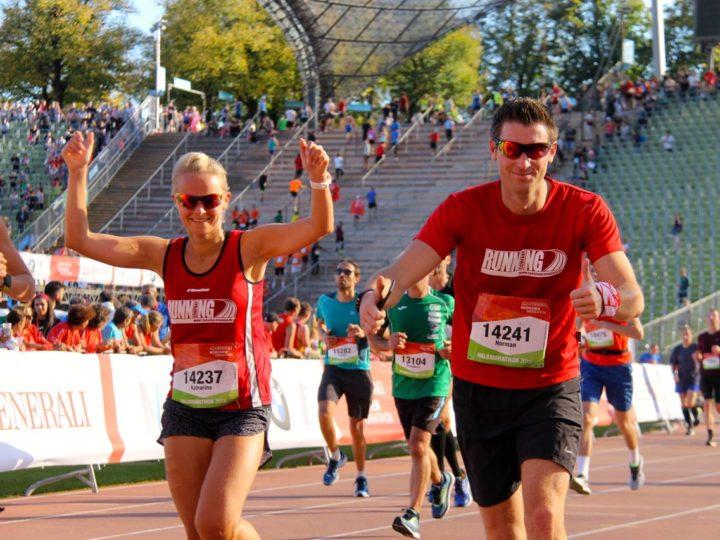 RUNNING Company startet durch beim München Marathon 2018