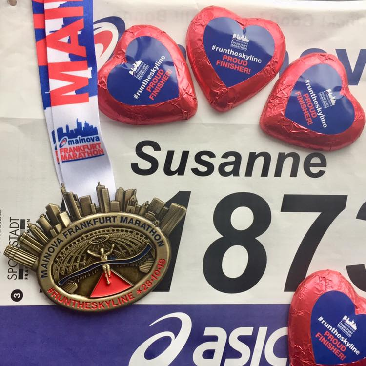 Frankurt Marathon Medaille
