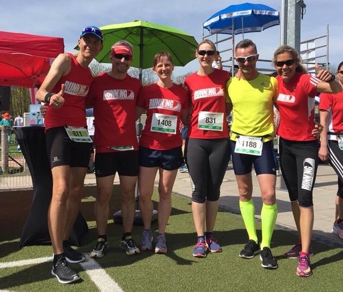 Red Runners beim Forstenrieder Volkslauf in München