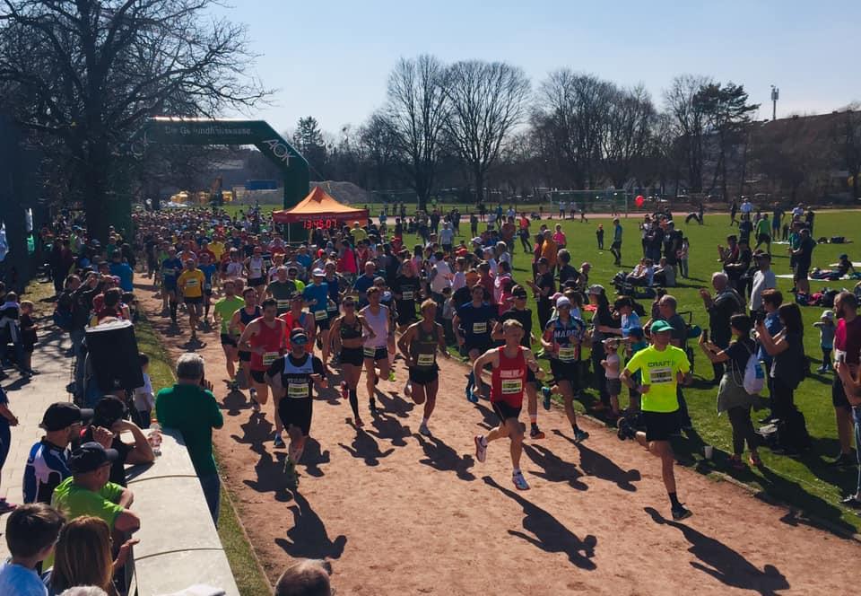 Halbmarathon-Start Forstenrieder Volkslauf 2019