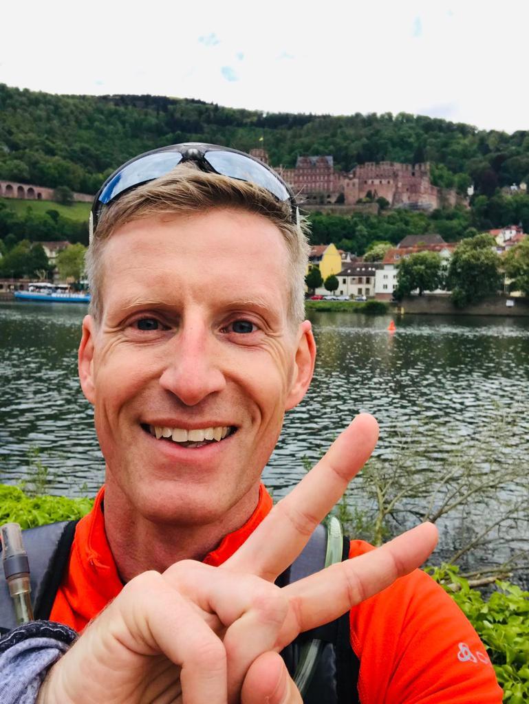 Jens Müller beim Wings for Life App Run 2019