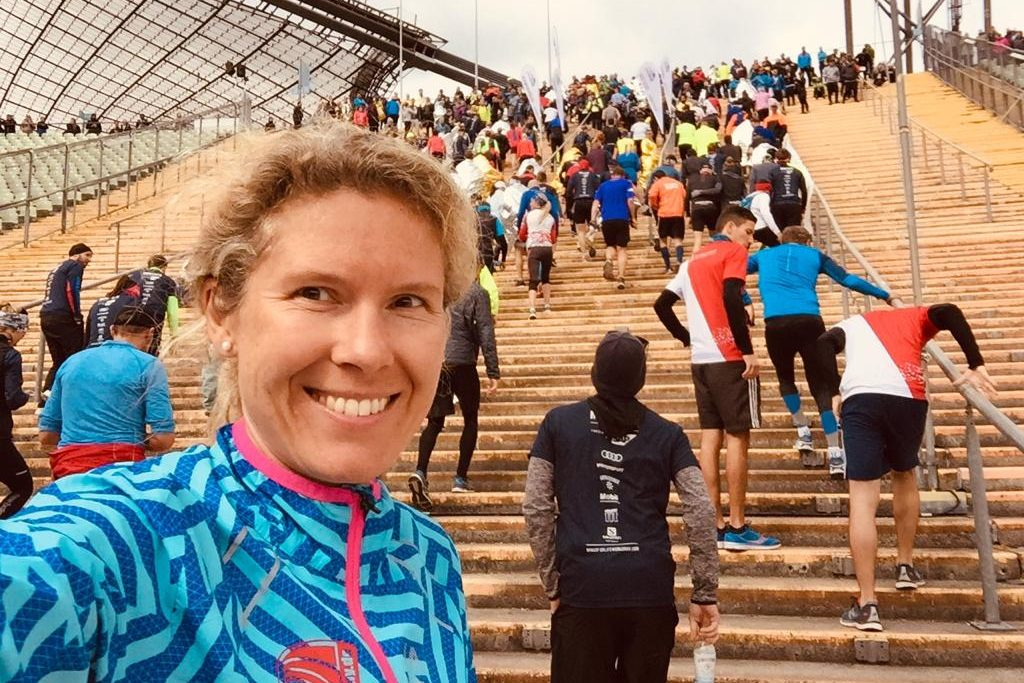 Bianca Meyer beim Wings for Life World Run in München 2019