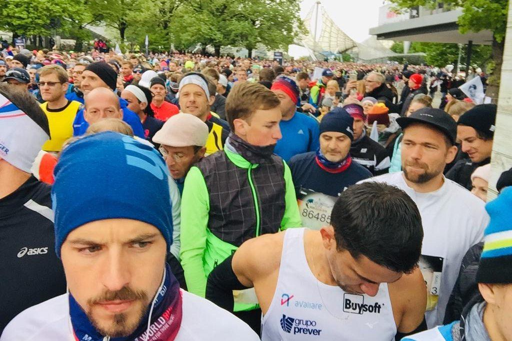 Startaufstellung beim Wings for Life World Run in München 2019