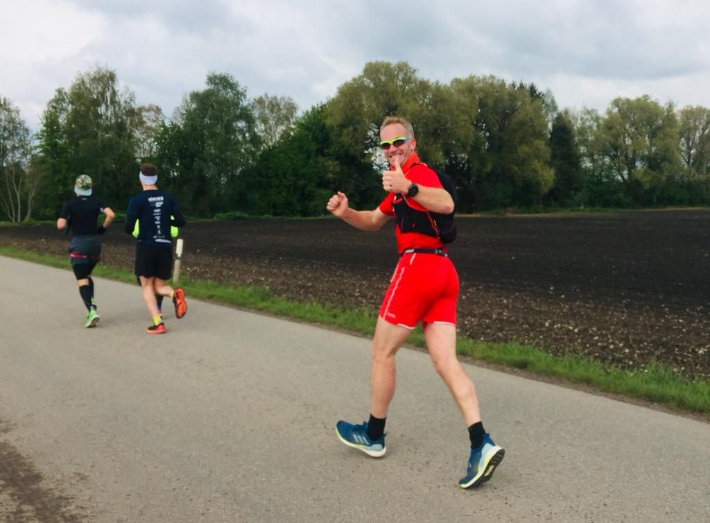Andreas van Cuyck beim Wings for Life World Run 2019 München