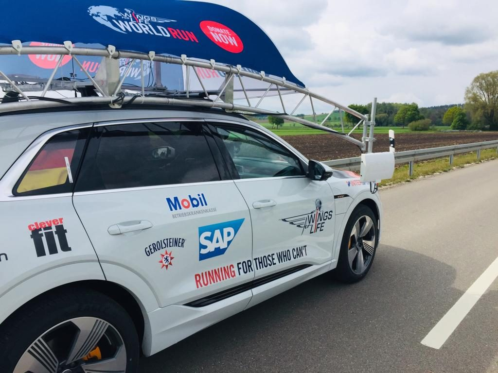 Catcher Car beim Wings for Life World Run 2019 in München