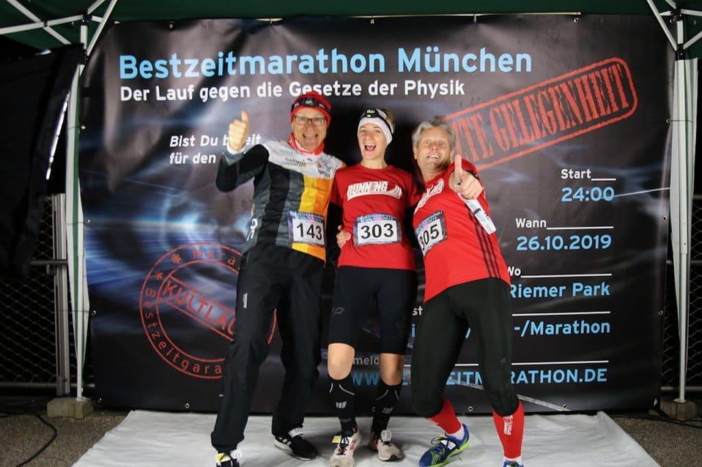 RUNNING Company Läufer beim Bestzeitmarathon 2019
