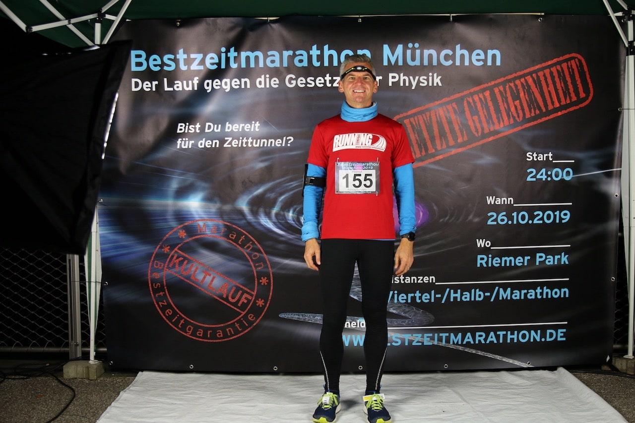 Helmut Stiglmayr Bestzeitmarathon München 2019