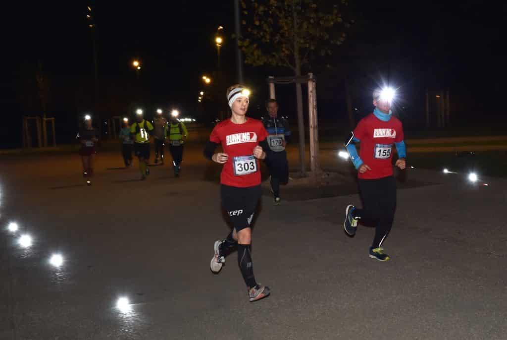 Halbmarathon in der Nacht in München