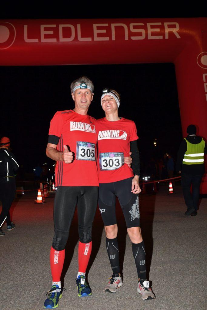 Nacht-Halbmarathon / Night Halfmarathon in München