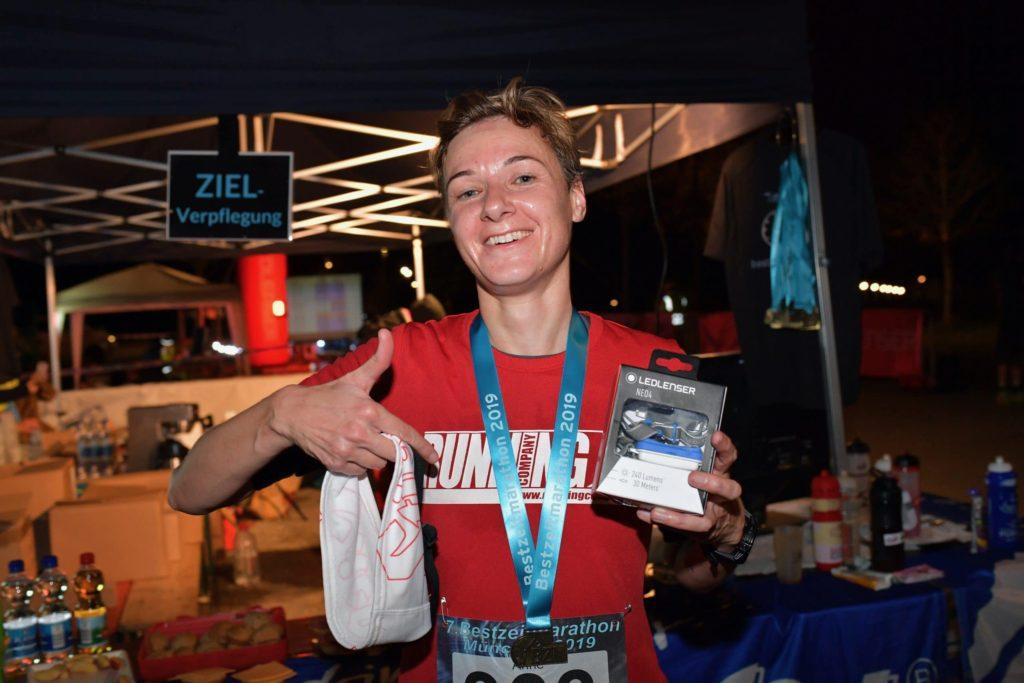 Halbmarathon Sieg beim BZM 2019 - Anne Stiller