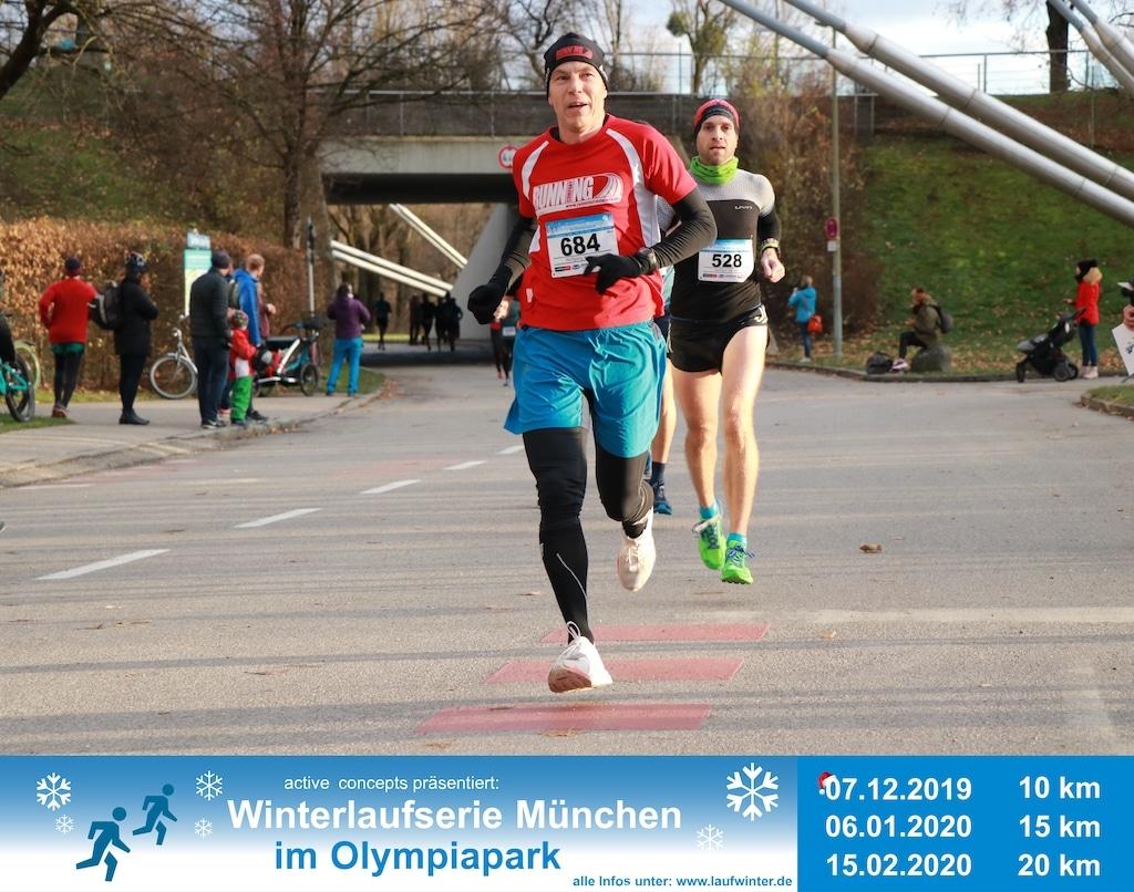 Läufer im Olympiapark München