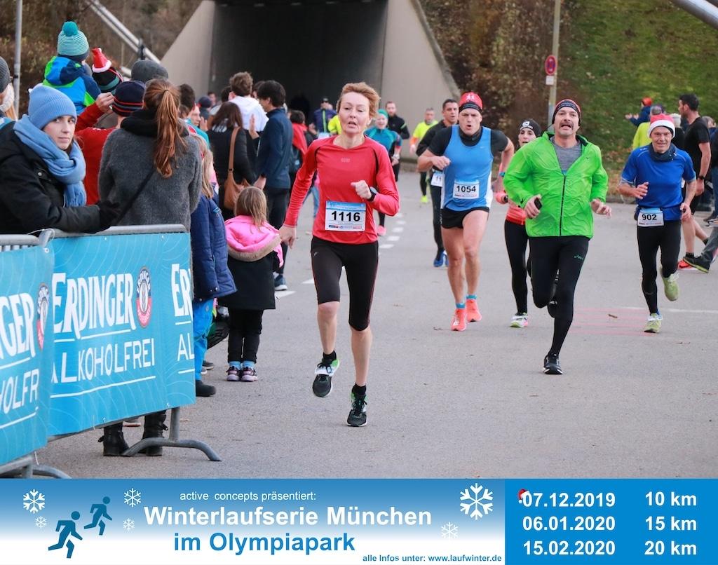 Nikolauslauf 2019 im Olympiapark