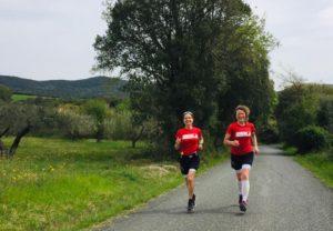 Happy Running bei der Toskana Laufreise