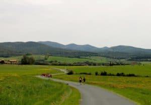 Toskana Landschaft im Laufcamp