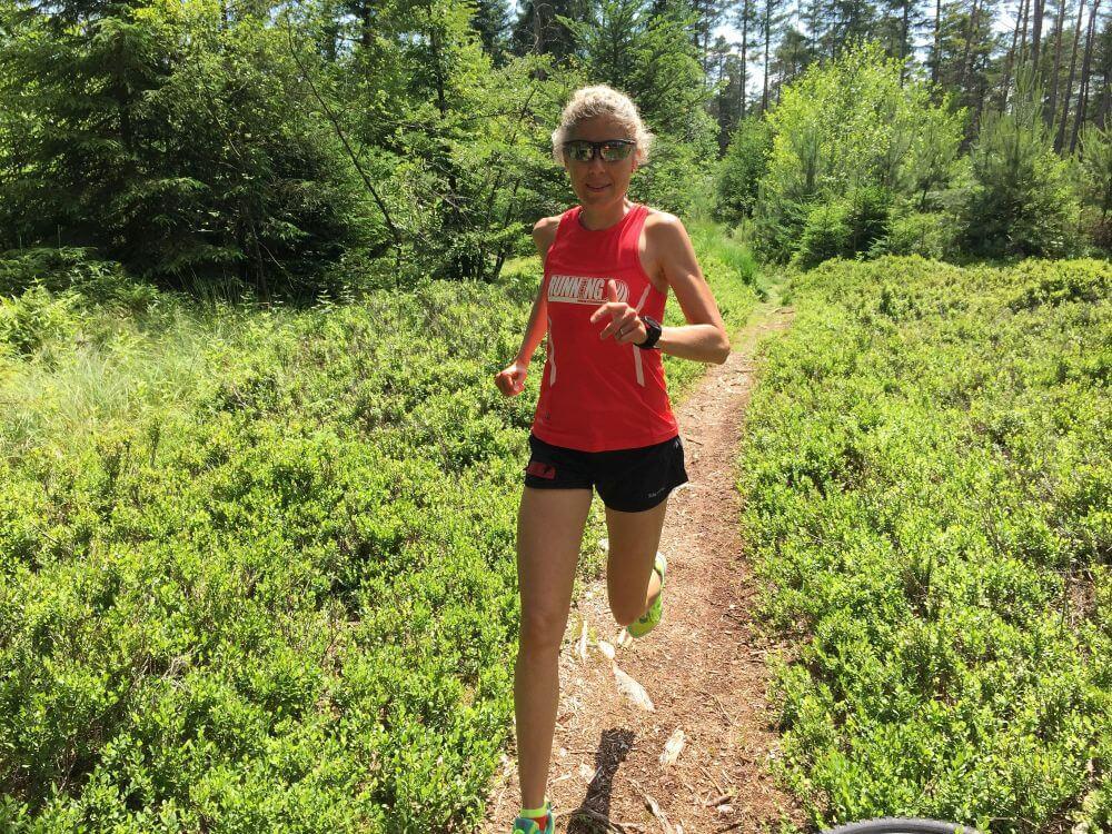 Trailrunning durch den Wald